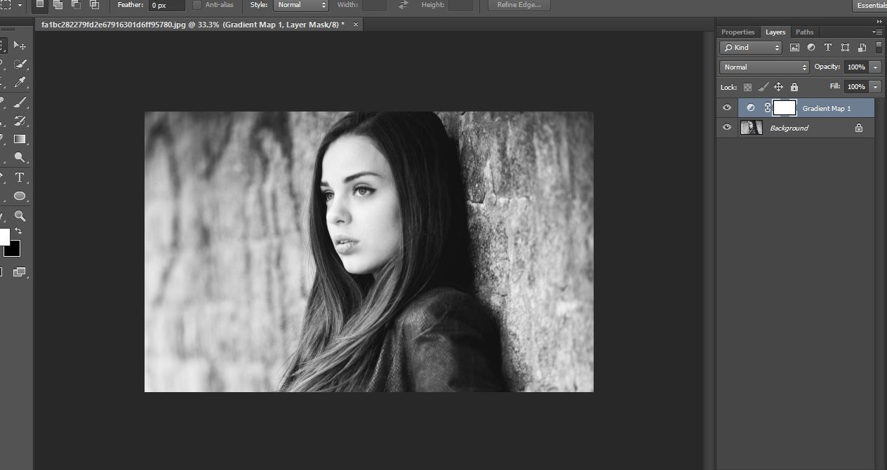 how to make contrast white overlay images
