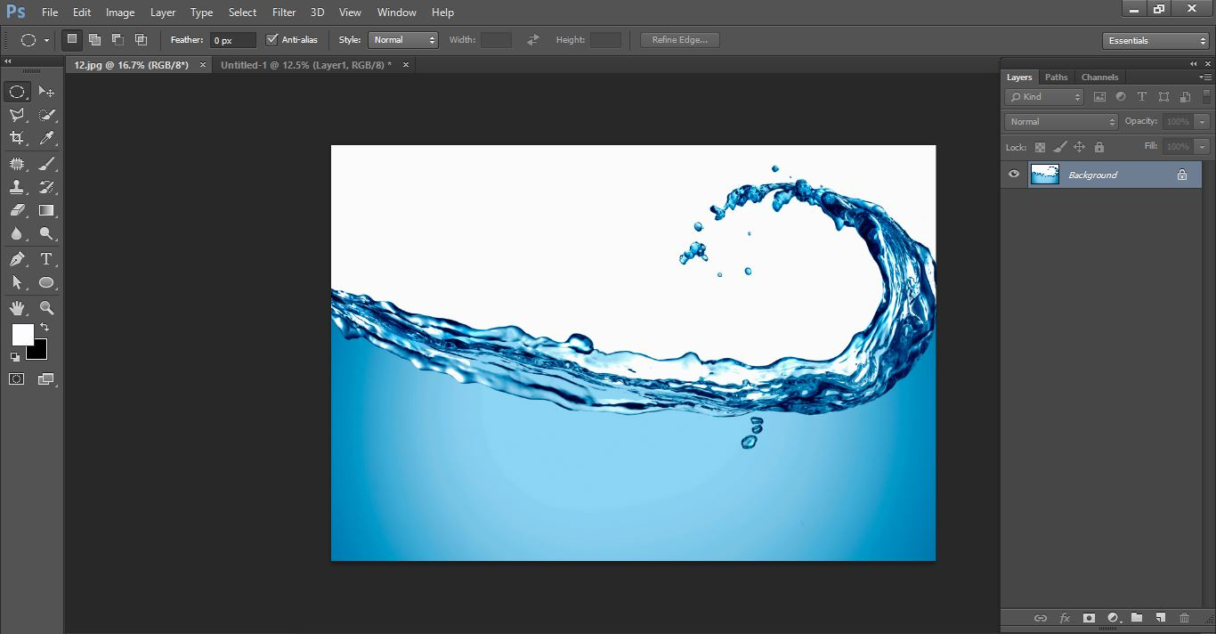 How to create Water Photo manipulation Bulbin Photoshop