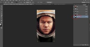 "Create ""The Martian"" movie poster using Your Own Face!"