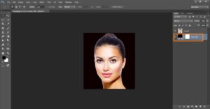 How to create a crack face effect in Photoshop