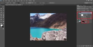 How to add beautiful Himalaya Everest to moody photos in Photoshop