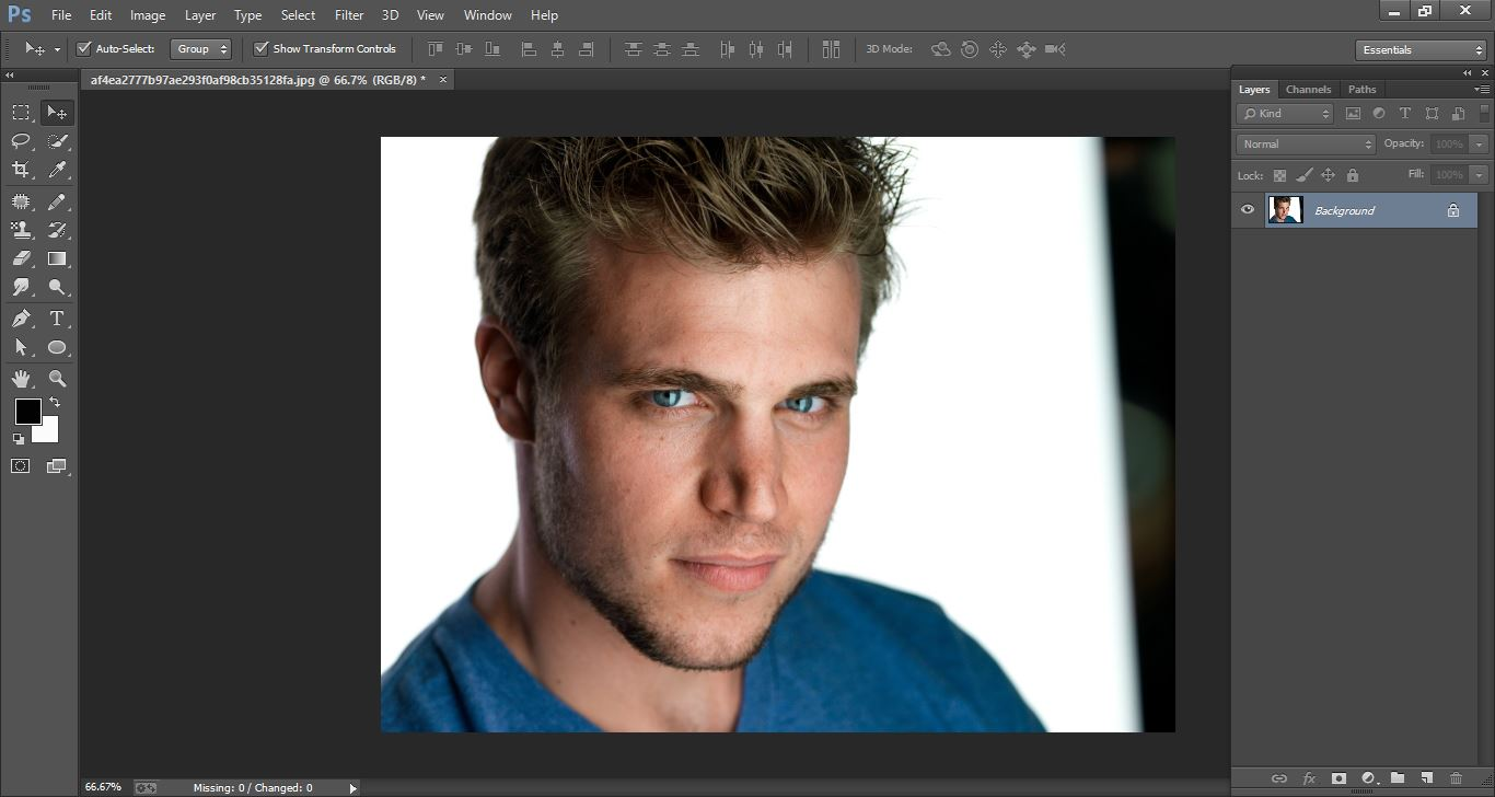 How to create Turn a Photo into a Stencil –in Photoshop manipulation