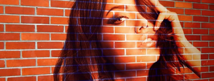 How to create Transform a Photo into a Brick Wall Portrait tin Photoshop