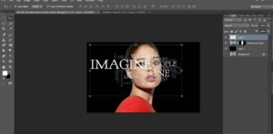 How to Create a Powerful Text Portrait from a girl image