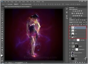 How To Create A Colorful Shape In Photoshop