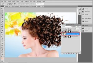 Cut Out Hair From Image In Photoshop