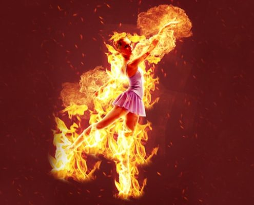How To Create Fire Portrait Effect In Photoshop