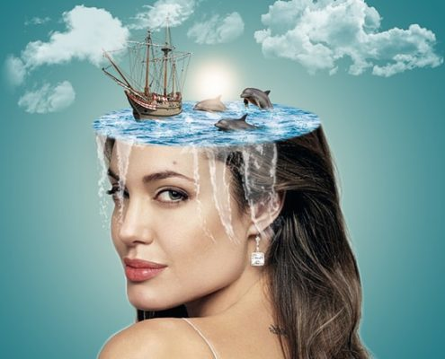 How To Create Water Head Photo Manipulation In Photoshop