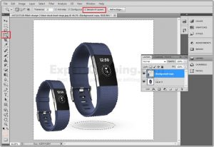 Remove background from image Use Magic Wand Tool